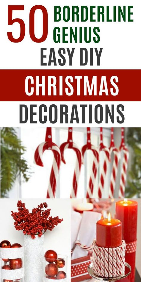 Grinch Christmas Party, Cheap Christmas, Homemade Christmas, Rustic Christmas, Diy Christmas Gifts, Christmas Projects, Simple Christmas, All Things Christmas, Christmas Trees