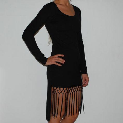 accessories til sort kjole