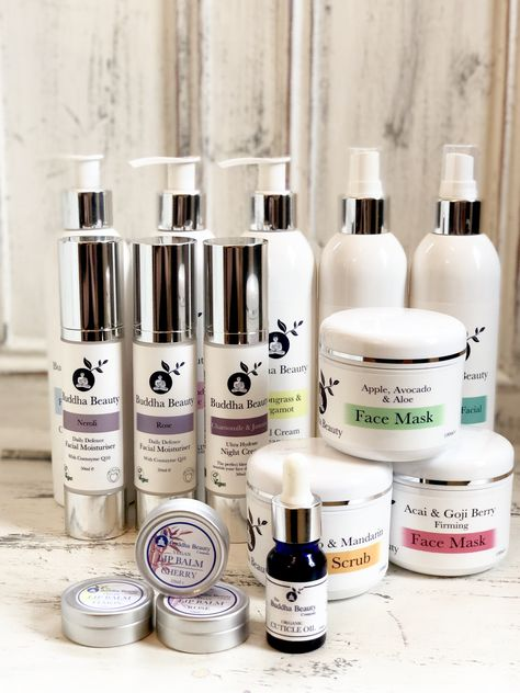 Just a few vegan skincare items from our range  | Buddha Beauty
