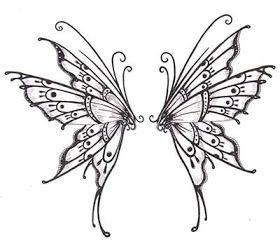 Plantillas O Disenos Tatuajes Disenos De Tatuaje De Mariposa