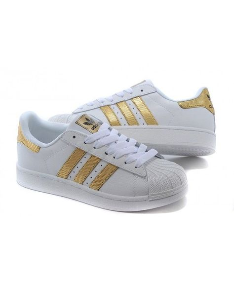 c4a3e8efb180 Adidas Superstar Womens Gold Fashion Discount Shoes T-1280