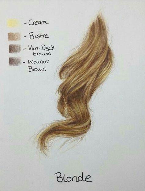 99 Art Hair Ideas How To Draw Hair Art Drawings
