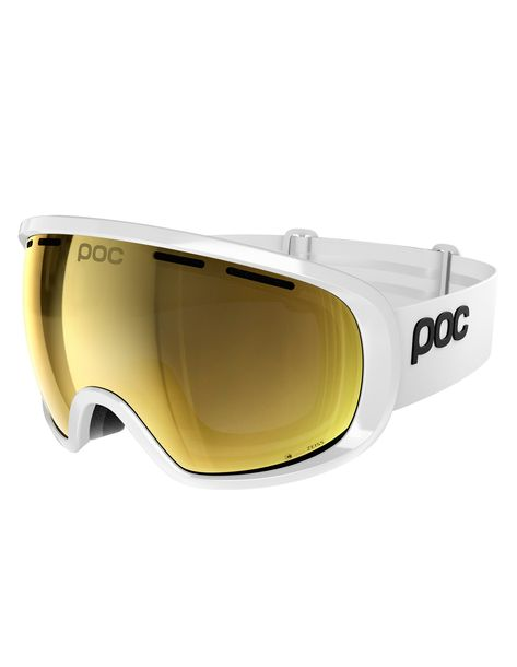 cee0f739cdb Fovea Clarity Hydrogen White Spektris Gold Poc   Masques de Ski   Snowleader