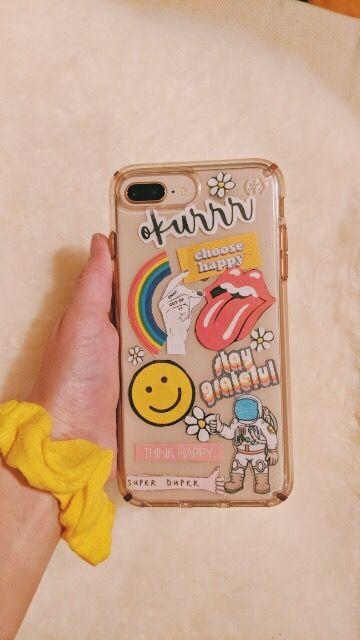 uk availability 7b70b 599f3 bhavyaanoop - phone case #stickers #happy #retro #trendy #phonecase ...