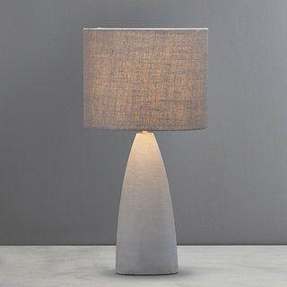 Avot Coastal Grey Concrete Table Lamp Dunelm Grey Table Lamps