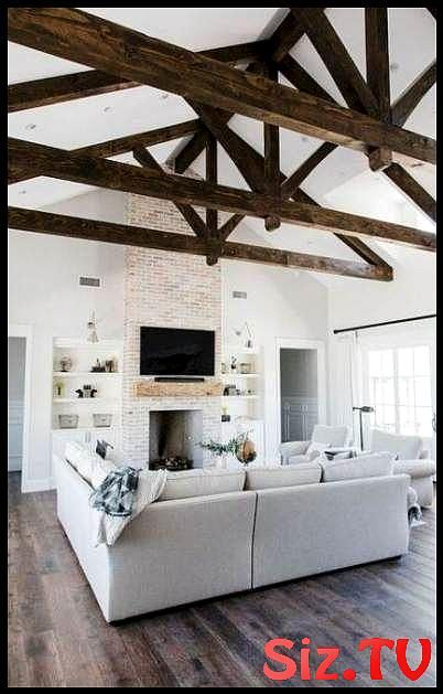 Super Dark Wood Floors Livingroom Furniture Beams Ideas Super Dark Wood F Farmhouse Decor Living Room Modern Farmhouse Living Room Decor Farm House Living Room