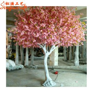 Source Artificial Cherry Blossom Tree Without Leaves For Hotel Decoration Silk Artificial Cherry Blossom Tree Artificial Tree Branches Large Artificial Flowers