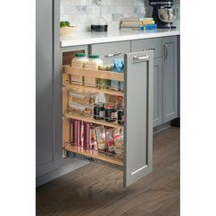 10 X 21 X 24 Inch Base Cabinet Pullout With Soft Close In 2020 Base Cabinets Hardware Resources Diy Pantry Organization