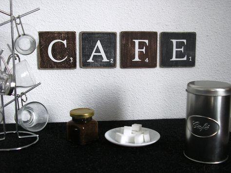 Lettres Decoratives Cafe Pour Une Decoration Murale De Cuisine
