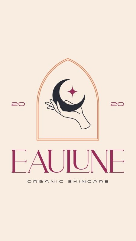 Eaulune organic skincare brand and package design by Fernando Peixoto
