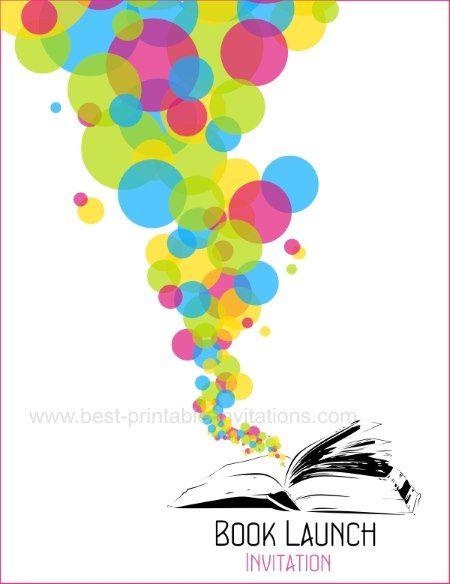 book launching ceremony invitation