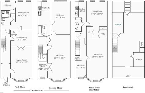 Row House Floor Plans Philippines Houses Unique