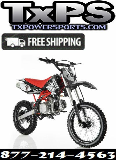 Apollo Db X18 125cc Rfz Dirt Bike 4 Speed Manual Clutch With Twin Spare Tubular Frame Free Shipping Sale Price 879 00 Pit Bike Racing Bike