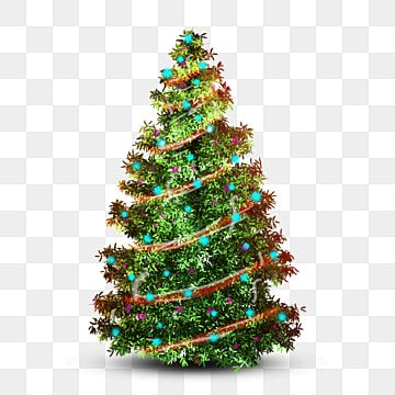 Christmas Tree With Red Ribbons And Blue Lights Christmas Christmas Tree Christmas Season Png Transparent Clipart Image And Psd File For Free Download Ribbon On Christmas Tree Christmas Tree Clipart Red