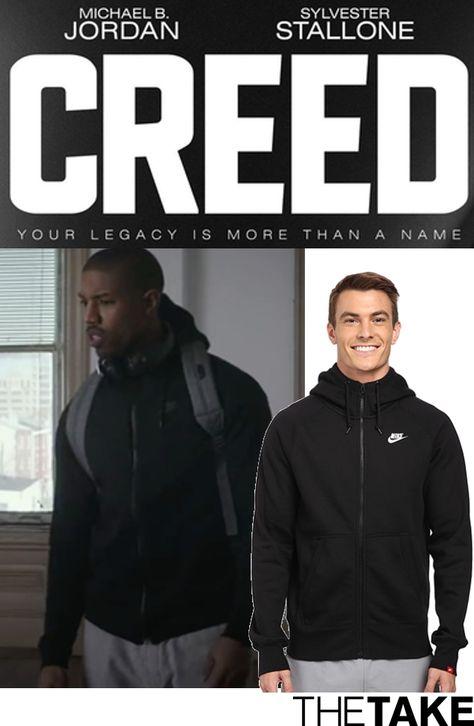 michael b jordan nike hoodie creed