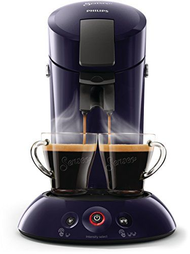 Senseo Original Hd6554 40 Freestanding Semi Auto Pod Coffee Machine 0 7l Blue Coffee Maker Original Hd6554 40 Freestanding Pod Coffee Machine 0 7 L Coffee Pod 1450 W Blue Coffee Maker Coffee Pods Coffee Machine