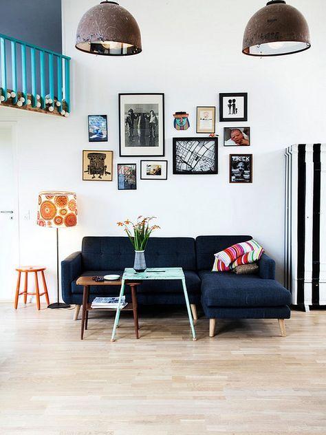 Desain Sofa Ruang Tamu Minimalis Kecil Unik Dengan Gambar