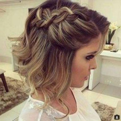 1001 Ideas De Peinados De Fiesta Atractivos Y Femeninos Peinado De Fiesta Cabello Corto Peinados Cabello Corto Y Peinados Boda Pelo Corto