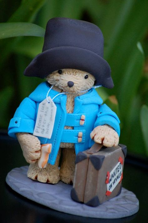 Cutest Paddington Bear topper ever by Royal Bakery