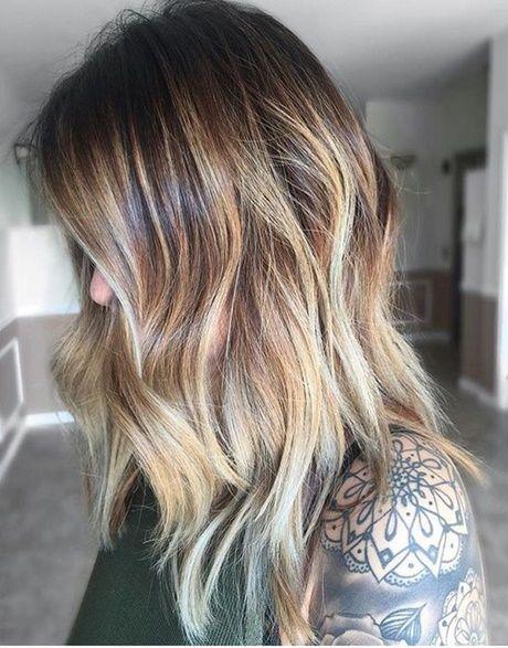 Mittellange Haartrends 2018 Neu Besten Haare 2019 Frisuren