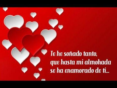 ♥ Mi Vida yo Te Amo ♥ Dedicatoria de Amor con Música Romántica - YouTube