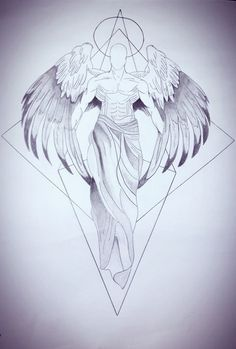 Super tattoo back angel art Ideas