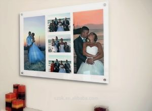 Wall Mounted Acrylic Multi Photo Frames Photoframe Picture Frame Wall Multi Photos Frame Acrylic Picture Frames