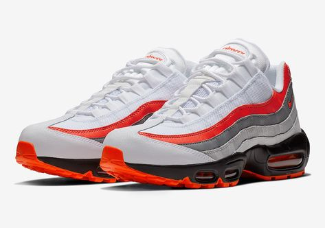 sports shoes fe428 b727e The Nike Air Max 95 Bright Crimson Is Slated To Drop Next Month