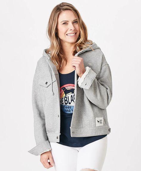 Ladies Vintage Jean Jacket