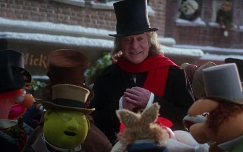 Uncle Scrooge Christmas Carol.Michael Caine As Scrooge In The Muppet Christmas Carol