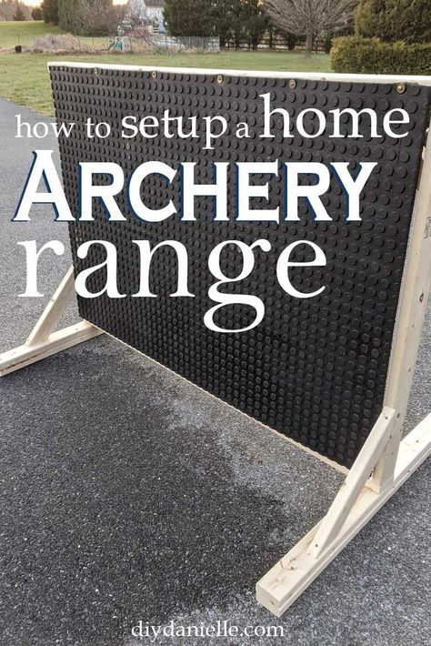 Learn how to make an easy backstop for archery plus tips for setting up an archery range in your yard. Learn how to make an easy backstop for archery plus tips for setting up an archery range in your yard. Archery Range, Archery Tips, Archery Hunting, Hunting Dogs, Deer Hunting, Archery Targets, Pheasant Hunting, Turkey Hunting, Hunting Cakes