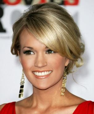 Good luck to CMA nominee Carrie Underwood.  We love Carrie's smile