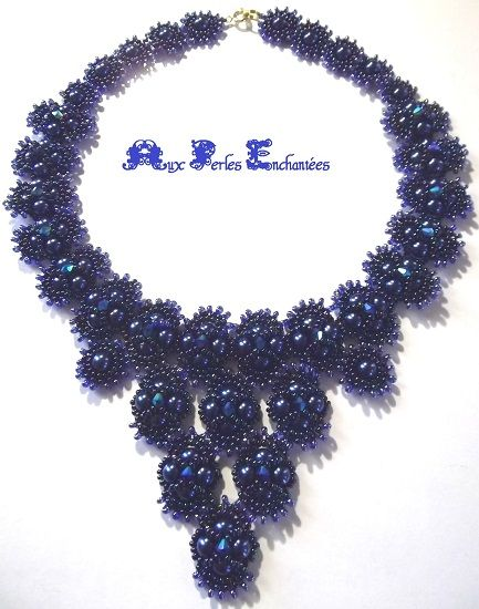 collier perle video