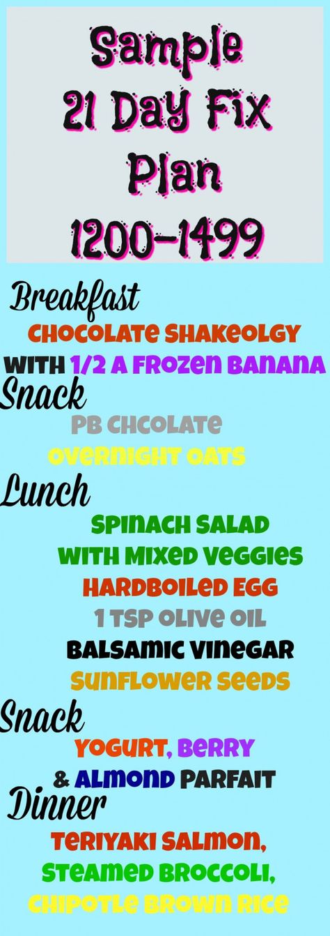 21 day fix sample meal plan 21 day fix extreme meal plan 22 minute hard corps