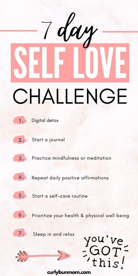 Start building the relationship you have with yourself with this effective 7 day self love challenge. These self love activities will help you to build self esteem, self confidence, self respect. Kick start your self love journey and start living your best life. #selflove #selflovechallenge #loveyourself #youfirst #doyou #beyou #foryou #selfconfidence #selfesteem #selfrespect