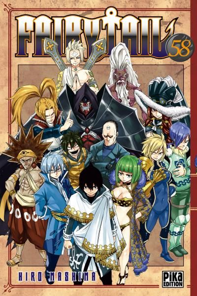 Fairy Tail Tome 58 Fairy Tail Fairy Tail Fairy Tail