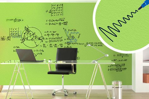 Transparent, Eco-Friendly, Whiteboard Paint