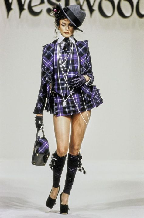 Andreas Kronthaler for Vivienne Westwood Fall 1994 Ready-to-Wear Collection Photos - Vogue