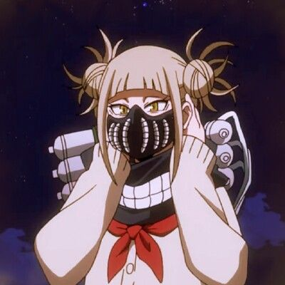 Toga Himiko And Her New Mask Anime Characters Aesthetic Anime Anime