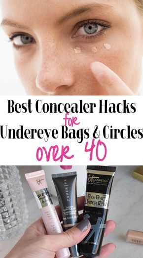 Best Concealer Hacks for Undereye Bags a. - Great tips and tricks for dark undereye circles and bags. These Concealer Hacks will help you look - Dark Under Eye, Dark Circles Under Eyes, Concealer For Dark Circles, Makeup Tricks, Makeup Tutorials, Makeup Ideas, Lipstick Tricks, Beste Concealer, Mac Cosmetics