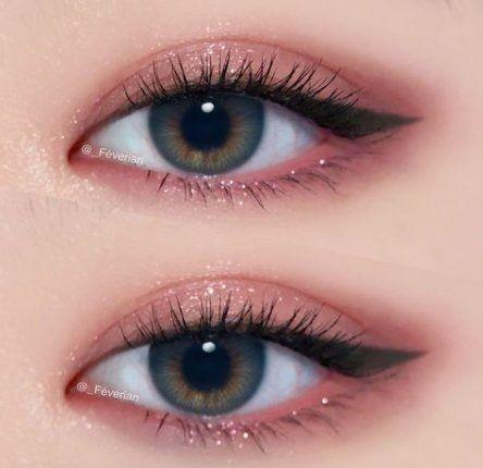 58 Super Ideas For Makeup Korean Eyes Natural Korean Eye Makeup Pink Eye Makeup Makeup Eyeliner