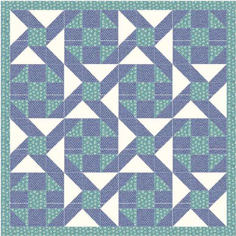 Eccentric star quilt pattern and tutorial from Ludlow Quilt and Sew