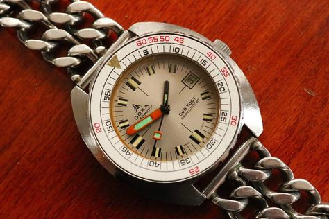 DOXA - Vintage 1970s DOXA Automatic SUB 300T Searambler Diver - Vintage Mens Divers Watch - by Synchron
