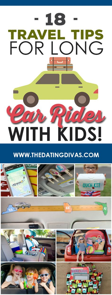 Road Trip Tips For Traveling With Kids! - from The Dating Divas