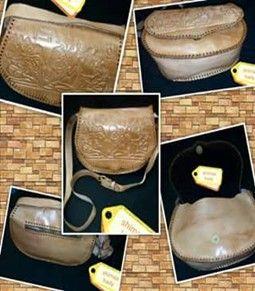 ورشة شوب شنطة حريمي جلد طبيعي هاند ميد