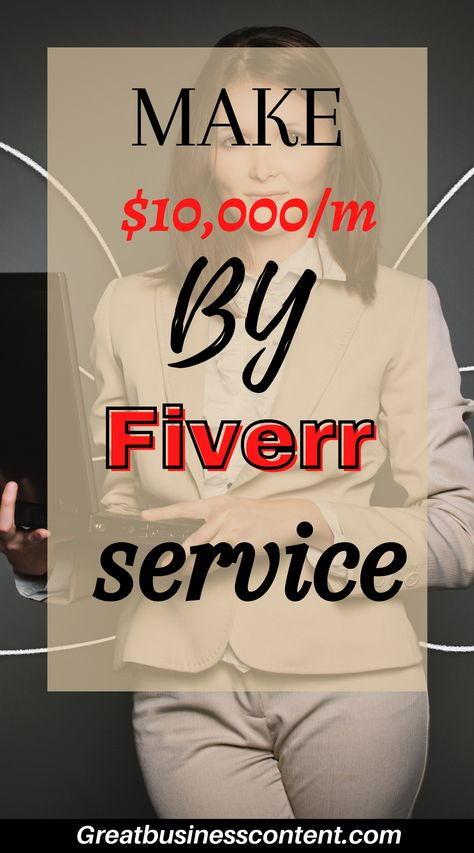 make money with Fiverr services