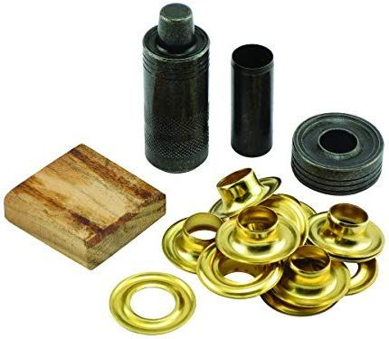 General Tools 71264 Grommet Kit With 12 Solid Brass Grommets 1 2