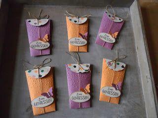Kreativ am Deich : ...neue kleine Goodies....und heute Abend Papiershare...