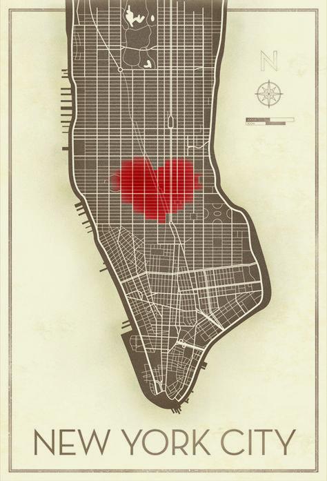 We love celebrating Valentines Day in the city.