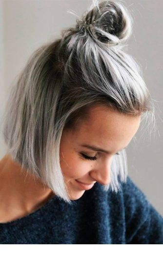 Short Hairstyles To Turn Heads This Summer 2019 Haare Grau